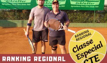 Chapadão do Sul possui o maior ranking de tênis de Mato Grosso do Sul