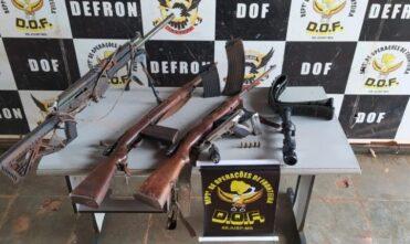 Com arsenal de uso militar, homem abre fogo contra policiais do DOF e acaba morto