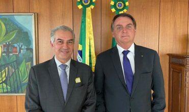 Azambuja se reúne com Bolsonaro para relicitação da Malha Oeste e melhorias contra incêndios no Pantanal