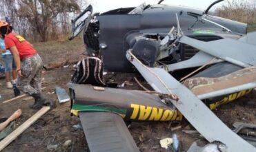 Morre policial que pilotava helicóptero da Força Nacional que saiu de MS e caiu no Pantanal