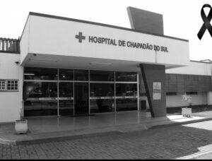 Nota de pesar pelo falecimento da 16ª vítima da Covid-19 em Chapadão do Sul