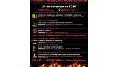 Nesta terça-feira (24/11) ocorre o Workshop de Combate e Prevenção a Incêndios Rurais na Ampasul