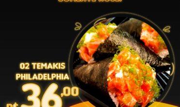 Promoção Black Friday no Tomodachi Sushi Bar
