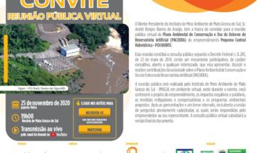EDITAL DE CONVOCAÇÃO – REUNIÃO PÚBLICA VIRTUAL