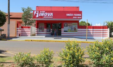 Segue a reinauguração da União Farma que agora é da Rede Inova Drogarias