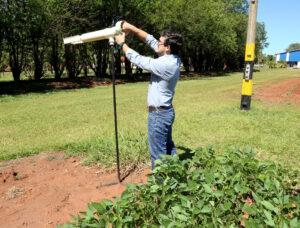 Fundação Chapadão monitora ambiente para detectar presença da ferrugem asiática