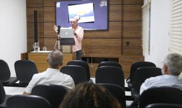 Última palestra do semestre do Homens com Propósito foi transmitida de Chapadão do Sul