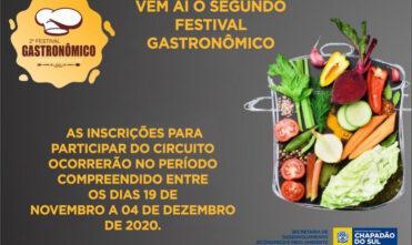 Vem aí a segunda edição do Festival Gastronômico de Chapadão do Sul