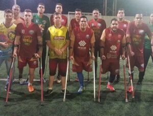 Futebol sul-mato-grossense de amputados disputa quadrangular em São Paulo