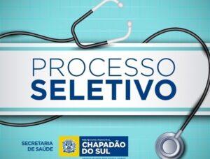 Chapadão do Sul: Aberta inscrição para processo seletivo da Secretaria de Saúde