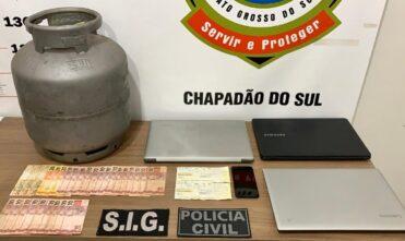 Polícia Civil de Chapadão do Sul elucida furto, prende suspeito e recupera bens em menos de 12 horas