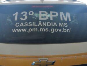 Homem vai jogar bola e tem moto furtada em Cassilândia, mas PM recupera veículo