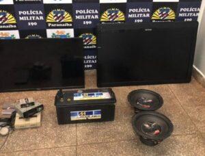 Polícia Militar e Polícia Civil recuperam objetos furtados em Paranaíba